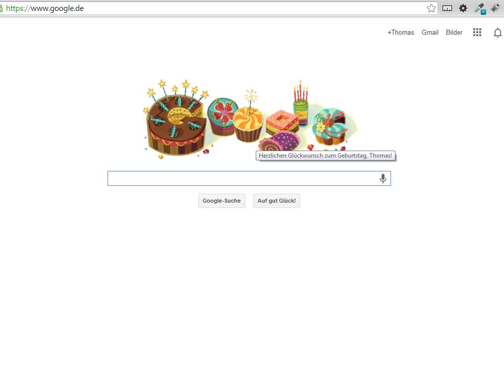 Meine persönliche Google Seite! :)